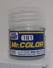 Gunze Sangyo Mr. Hobby acrylic paint C-181, Semi gloss, Super Clear 10ml.