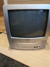 "Toshiba VTD1431 14"" Screen CRT Cube TV/ DVD Combi Retro Gaming Monitor TV Rare"