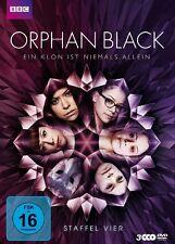 ORPHAN BLACK STAFFEL 4  MASLANY,TATIANA/GAVARIS,JORDAN/+  3 DVD NEU
