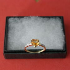 Unbranded Natural Citrine Fine Rings