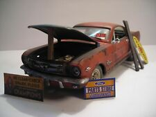 Ford Mustang 1965 Shelby Scheunenfund Tuning weathered Boss Cobra Barn find 1:18