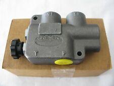 New.Parker Gresen Cfda-75 Adjustable Hydraulic Flow Control W/Knob