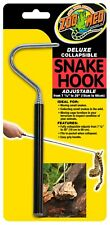 Zoo Med Deluxe Collapsible Snake Hook Black 7.25 In - 26 in    Free Shipping