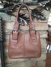 EUC TIGNANELLO Leather French Tote/BROWN Tote Handbag Satchel Purse