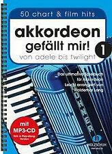 Akkordeon gefällt mir! 1 von Waldemar Lang (Broschüre)