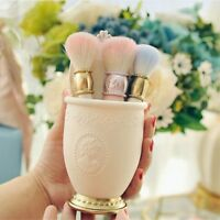Empty Make Up Brush Container Bag Holder Travel Cosmetic Case Storage Set Silver
