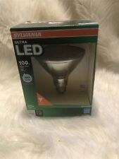 Lot of 3 Sylvania Ultra LED 1300 Lumen PAR38 100W Equiv Outdoor Flood Light Bulb