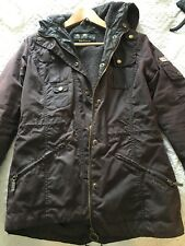 Ladies Barbour Winter Force Parka jacket size UK 10