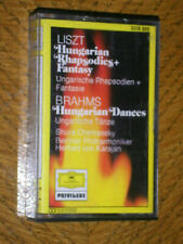 Liszt, Enesco - Hungarian Rhapsodies, Brahms Hungarian Dances Cassette Tape