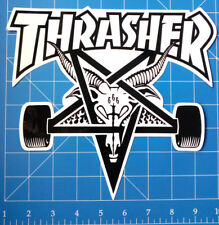 THRASHER STICKER PACK #15a **HUGE DECK SIZED SKATE GOAT STICKER**