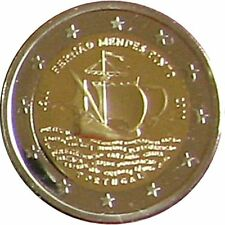"Original 2 euro conmemorativa especial moneda ""mendes pinto"" Portugal 2011 pp Proof"