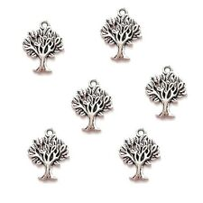 10 x Tibetan Silver Tree of Life Pendant Charms Whomping Willow Harry Potter