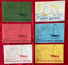 LOT 6 BUVARD PUBLICITAIRE / SOUS VETEMENTS / PETIT BATEAU  par BEATRICE MALLET