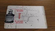 FB453_CARTA ASSORBENTE PUBBLICITARIA PER INCHIOSTRO_ATRON NERO SUPERIORE EPOCA
