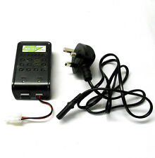 MH-8S 6v - 7.2v Battery Charger 1-8 cell Ni-MH Model 800mA LED for Large Tamiya