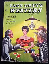 Collectible Zane Grey's Western Magazine 1951