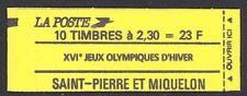 St Pierre & Miquelon 1990 23F Booklet Sc# 530 NH