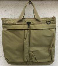 US Military Flyers Helmet Bag 19x19 Made in USA Desert Tan color Cordura Fabric