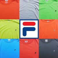 Fila Sport Performance Long Sleeve Crewneck Tee T-Shirt Shirt Sizes XS-XXL New