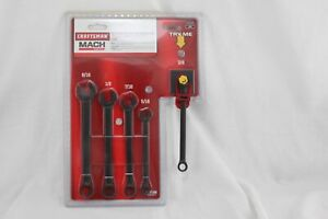 Craftsman Mach Series 5pc Open End Ratcheting Wrench Set 941529 NEW A094