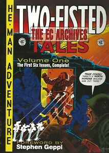 TWO-FISTED TALES VOL 1 EC ARCHIVES HARVEY KURTZMAN 1ST 6 ISSUES HARDCOVER 2007