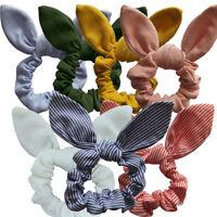Eg _ da Donna o Ragazza Coniglio Earrings Elastico per Capelli Fascia Corda