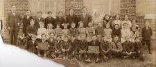 1913 LITTLESTOWN PA*UNION TOWNSHIP*LARGE PHOTOGRAPH*CENTER SCHOOL*JOHN M WISLER*