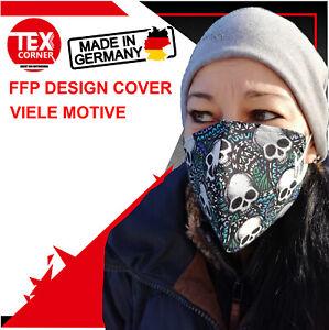 FFP2 Masken Motiv Cover Überwurf Handmade in Germany + FFP2 Maske CE2163