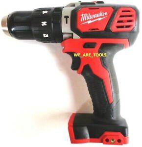"New Milwaukee M18 2607-20 Cordless 1/2"" Compact Hammer Drill Driver 18 Volt 18V"