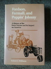 FORDSON FARMALL AND POPPIN JOHNNY FARM TRACTORS FARMING AGRICULTURE H/B BOOK