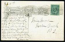 CANADA 1904 POST CARD YUKON BRIDGE, MONTREAL