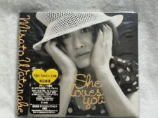 NEW! She Loves You by Misato Watanabe (CD 1995) Japan!