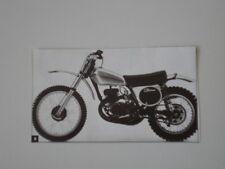 RITAGLIO DI GIORNALE 1973 MOTO ELSINORE CR 250 M