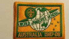 1987 World Jamboree Official Participants patch