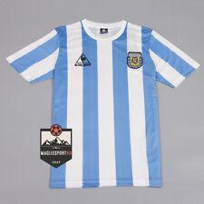 Maglia Argentina Mondiali 1986 - Calcio Retro Vintage Mondiali Maradona Messi