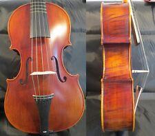 """Thicker rib 5 string viola 18"""" sideling frets viola ,deep bass sound #11613"""