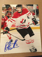 Dougie Hamilton SIGNED 8x10 photo TEAM CANADA / CAROLINA HURRICANES