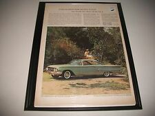 1960 CHEVROLET BEL AIR SPORT COUPE ORIGINAL PRINT AD COLLECTIBLE GARAGE ART