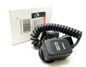 CANON OFF CAMERA SHOE CORD 2 - UK DEALER