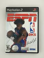 ESPN NBA 2K5 - Playstation 2 PS2 Game - Complete & Tested