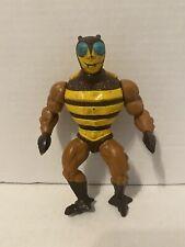 BUZZ OFF He-Man MOTU incomplete vintage figure NO WINGS