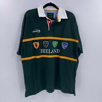 Heritage Collection by lansdowne ireland polo rugby shirt sz XL