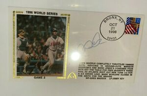 Derek Jeter Signed Authenticated Postcard World Series First Day Cover PSA/DNA