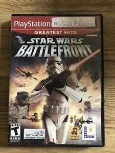 Star Wars : Battlefront - Ps2 (Sony Playstation 2) Complete W/box & Manual !