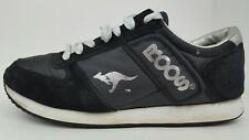 KangaRoos Men's Size 10.5 Combat Black Suede Lace Up Sneakers 0900 VG Runs Small