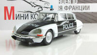 Citroen DS21 Police car of France 1962. Diecast Metal model 1:43 Deagostini