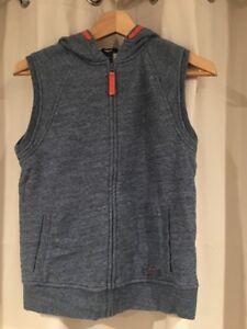Gap Kids Sweater Vest Blue And Orange Boys Large