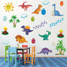 Cartoon Animal Wall Decal Dinosaur Vinyl Sticker Kids Baby Room Art Mural Decor