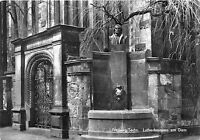 BG16669 lutherbrunnen am dom  freiberg sachs germany CPSM 14.5x9cm