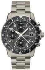 New Sinn 103 Ti DIAPAL: Titanium Pilot's Chronograph Watch w/ Extra OEM Strap